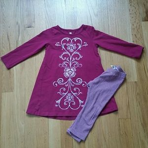 Tea Collection Dress and leggings